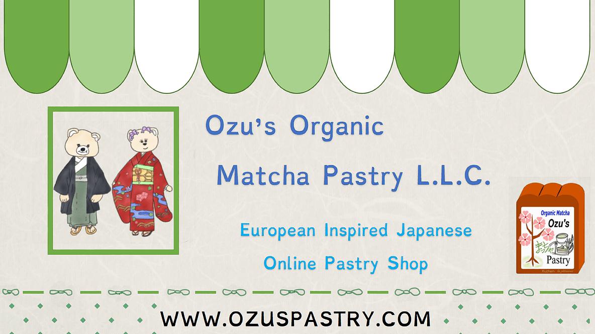 Ozu's Organic Matcha Pastry
