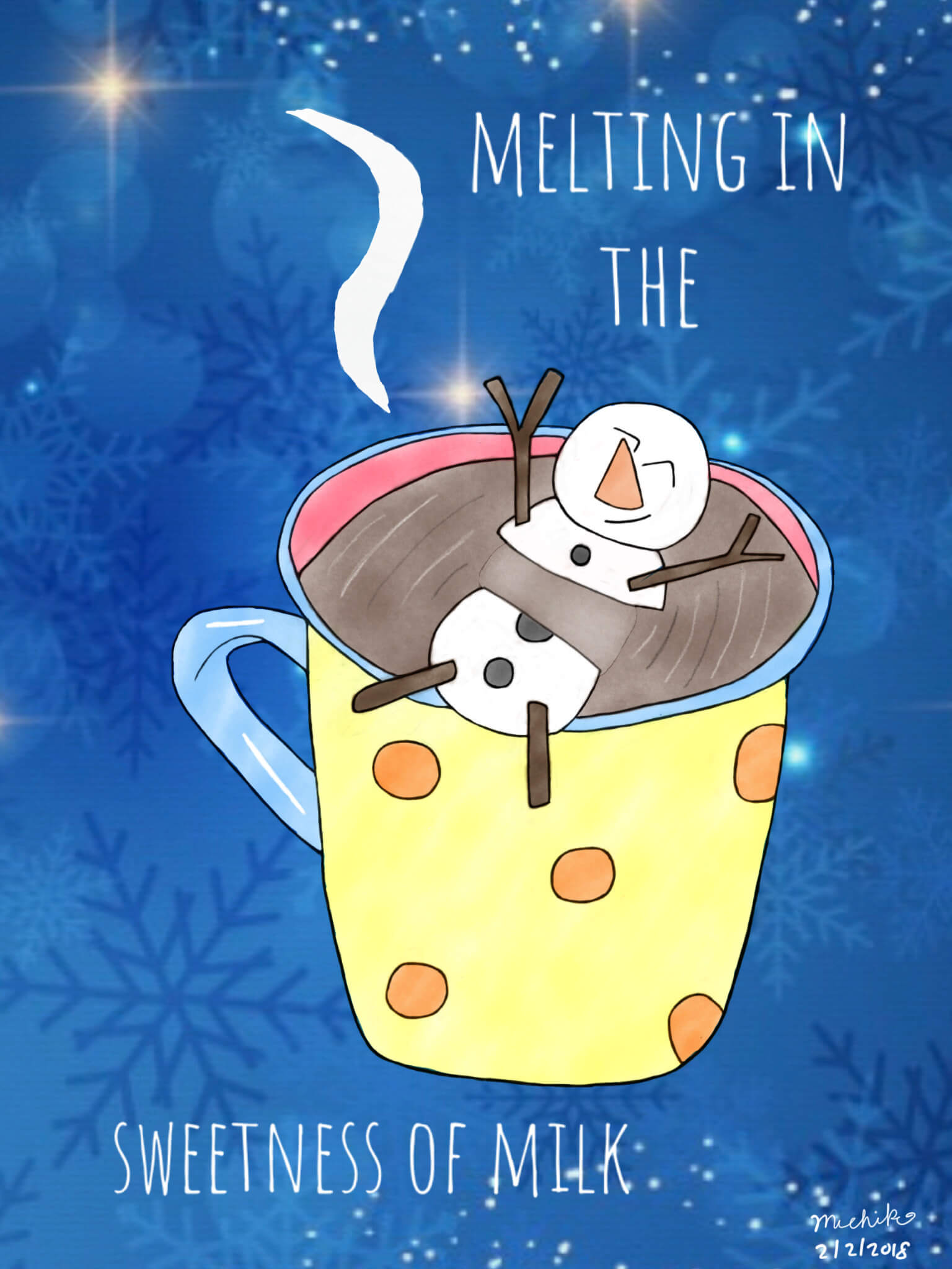Suicidal Chocolate Milk Snowman