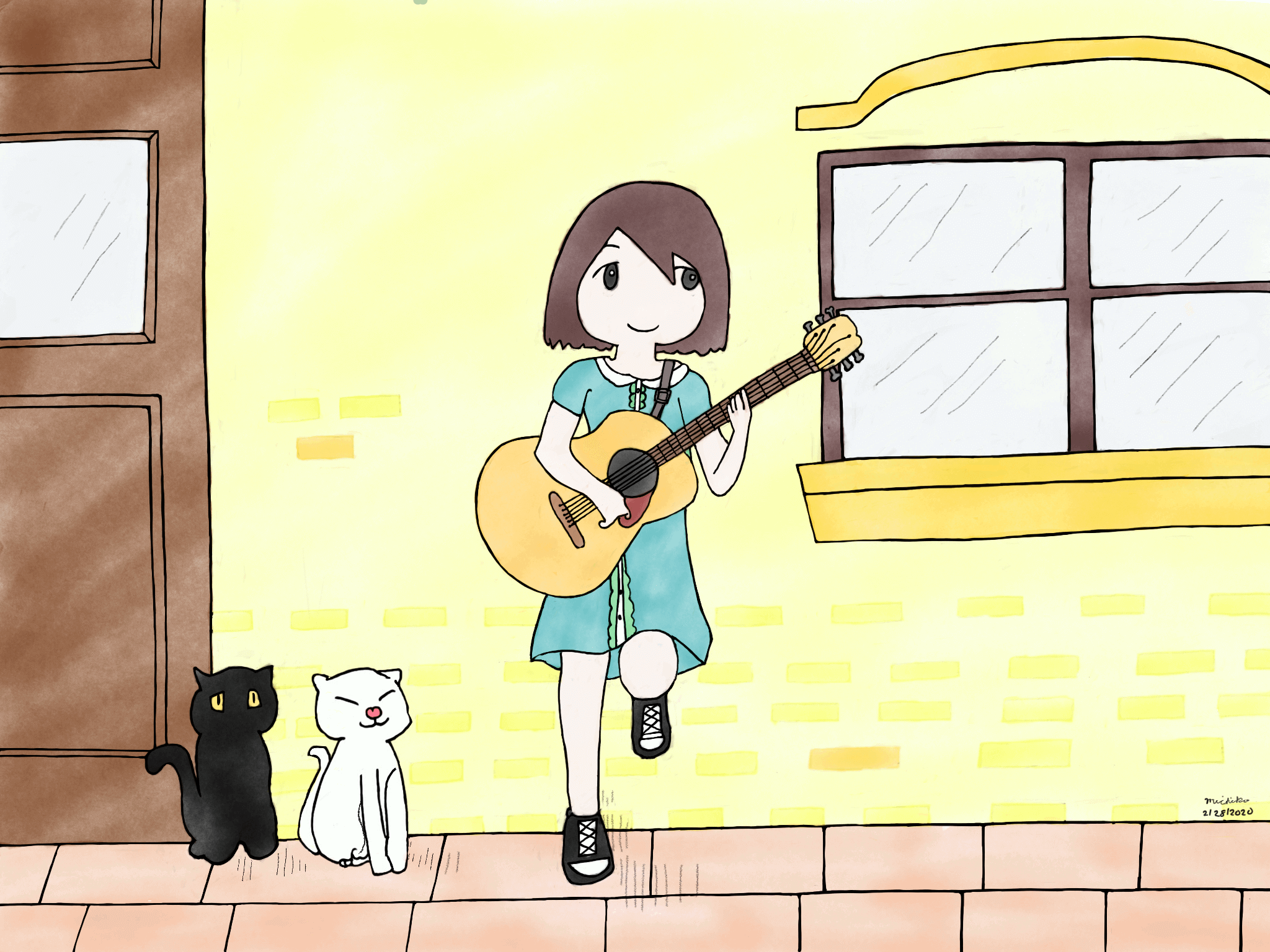 Be a guitarist