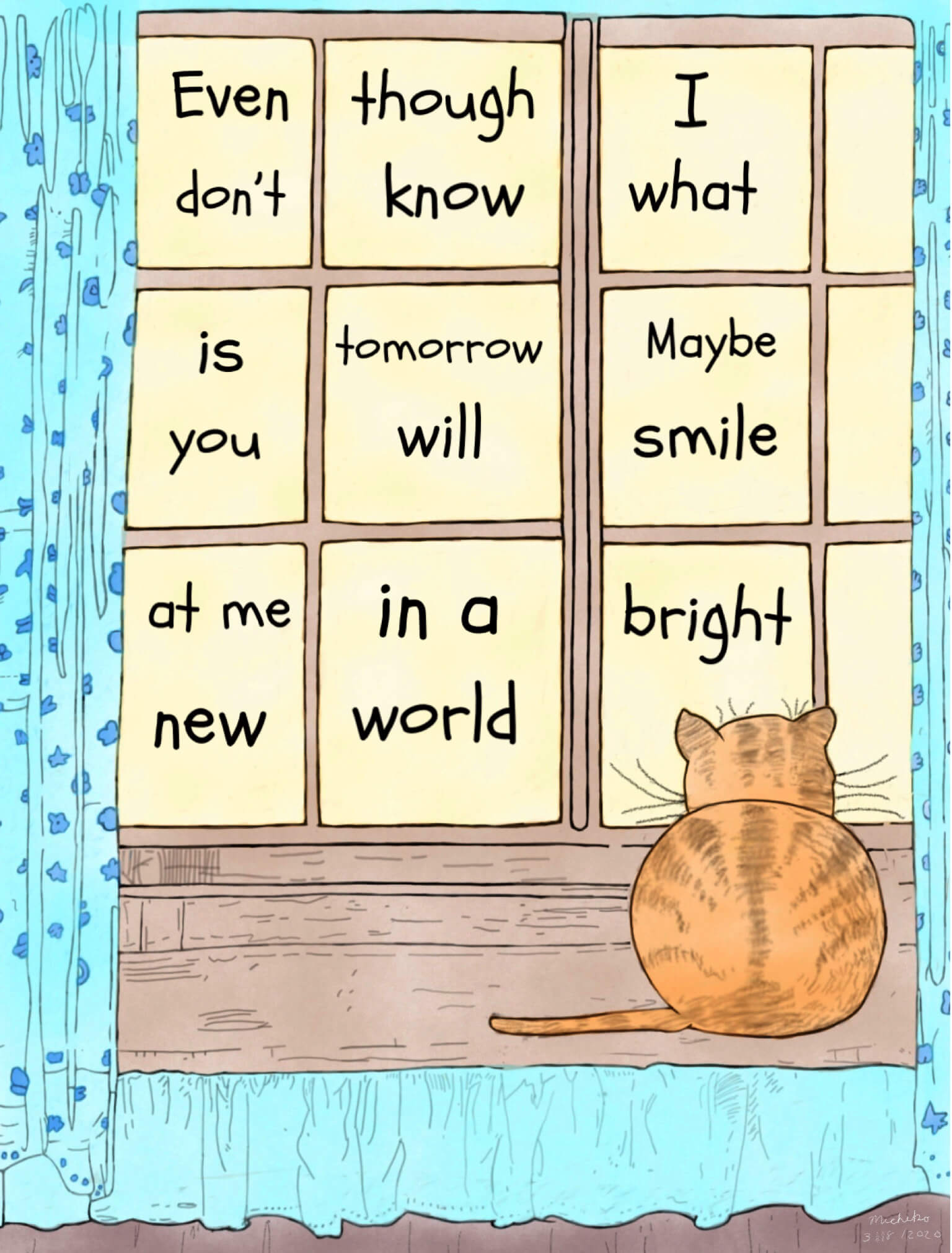 Looking forward to a bright new world